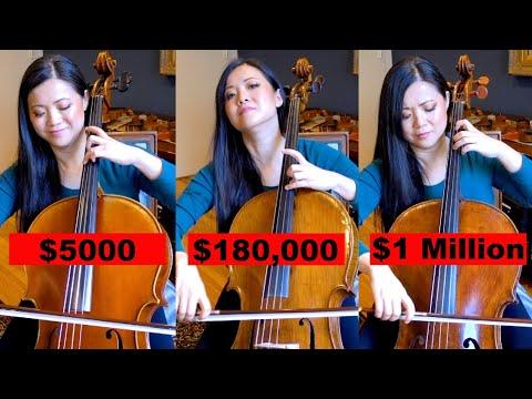 Услышите ли вы разницу между виолончелями за $5000 и $1000 000?