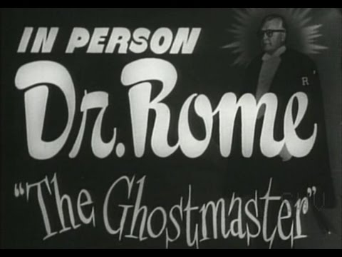 Something Weird Dr. Rome The Ghost Master/Chamber Of Horror