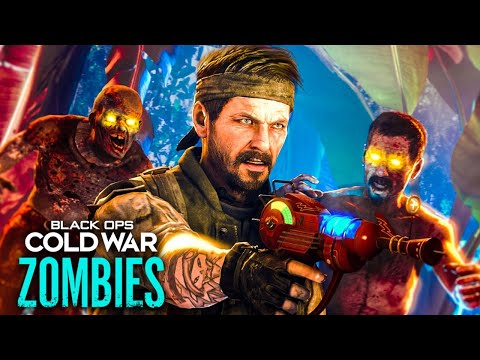 BLACK OPS COLD WAR ZOMBIES REVEAL TRAILER DAY - EASTER EGG HUNT (Call of Duty Zombies)