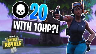 Nonton ALL I NEED IS 10 HP!! 20 Kill Win in Solos (Fortnite Battle Royale) Film Subtitle Indonesia Streaming Movie Download
