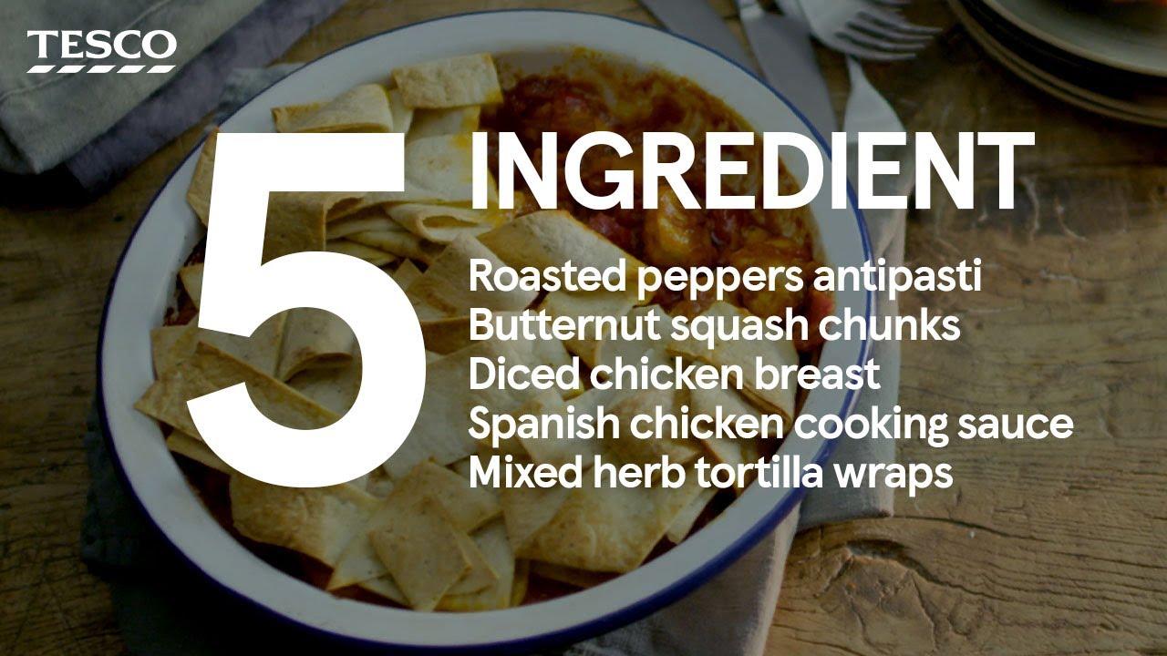 5-ingredient – Piri-piri chicken pot pie