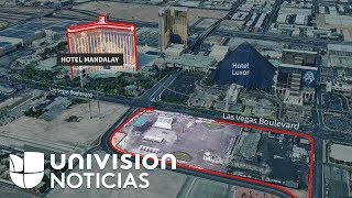 Video: Reconstrucción visual del ataque en Las Vegas que dejó decenas de muertos