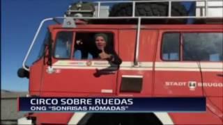 Canal 24 entrevista en Punta Arenas, Chile Feb2017
