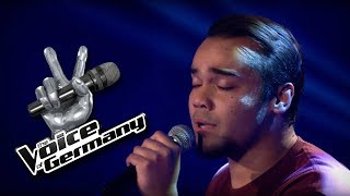Lost Stars - Adam Levine | Robert Ildefonso Cover | The Voice of Germany 2016 | Blind Audition