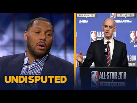Eddie House on LeBron's comments about not going 'too crazy' with the playoff format | UNDISPUTED (видео)