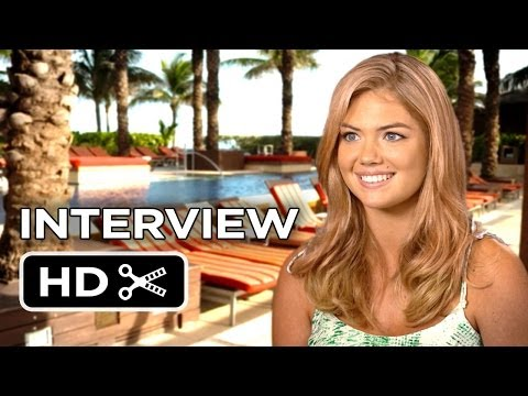 The Other Woman Interview - Kate Upton (2014) - Cameron Diaz Comedy HD