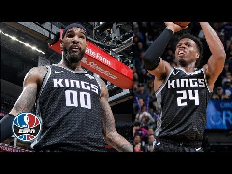 Video: Buddy Hield, Willie Cauley-Stein outduel Joel Embiid, 76ers in Kings' win | NBA Highlights