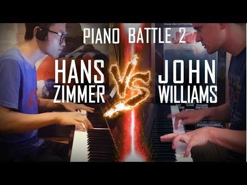 John Williams vs  Hans Zimmer  - Piano Battle Mashup/Medley #2 ft. Samuel Fu