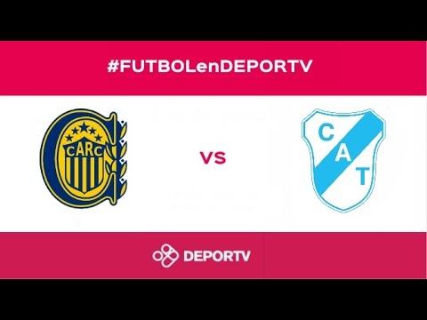 #FUTBOLenDEPORTV - EN VIVO - Rosario Central vs. Temperley