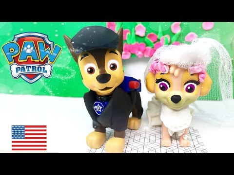 Video Paw Patrol Chase and Skye get married Full episode Wedding Day in Love Kiss download in MP3, 3GP, MP4, WEBM, AVI, FLV January 2017