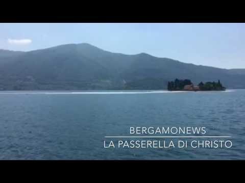 La passerella di Christo sul lago d'Iseo