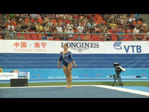 Corpo Libero di Erika ai Mondiali di Nanning