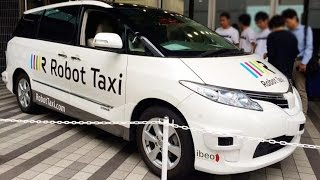 Japan Moving Forward on Driverless Taxis
