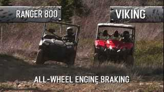 10. 2014 Yamaha Viking vs  Polaris Ranger :  Head to Head