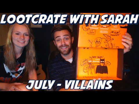 LOOT!!! - So Sarah's guest starring in our first LootCrate! If you guys wanna see more of this, be sure to crush that like button! Also, 3000 likes and Sarah gets the socks! Join Lootcrate: http://mbsy.co/...