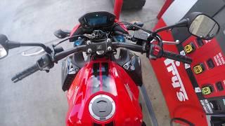 4. 2017 Honda Cb500F Coffmans Exhaust