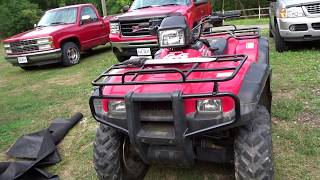 3. TANK!!! 2002 HONDA FOREMAN RUBICON toughest atv we have ever bought.Long term review.