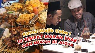 Video 10 Tempat Makan Murah dan Enak di Yogyakarta yang Harus Kamu Tahu MP3, 3GP, MP4, WEBM, AVI, FLV Januari 2018