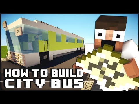Bus - Minecraft Vehicle Tutorial - Bus Share the love on this new Minecraft vehicle tutorial series! More Vehicles? Check out the playlist - http://goo.gl/S3FZka D...