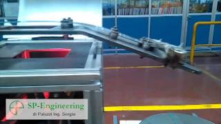 Controllo difettosità superficiali su nastro in acciaio