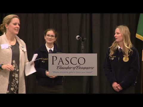 Pasco Chamber of Commerce Luncheon, 1/9/19