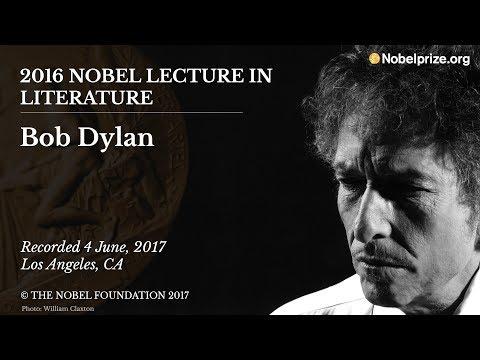 Bob Dylan 2016 Nobel Lecture in Literature