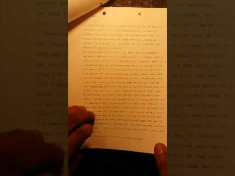 Part 4. Proof of Police, Prosecutorial and Judicial Misconduct.  Fake Witness Statements