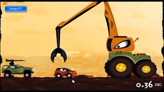 Детский мультик Гонка на выживание игра