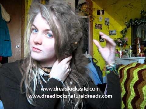 Natural Freeform Dreadlocks at 10 months!!