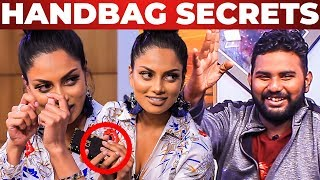 Video EYELASH SECRETS - IAMK Actress Chandrika Ravi HANDBAG Secrets Revealed | What's Inside the HANDBAG MP3, 3GP, MP4, WEBM, AVI, FLV Desember 2018