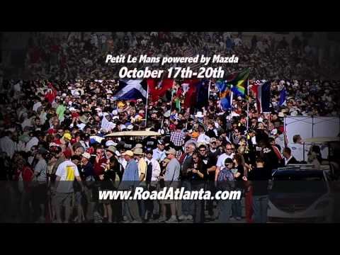 Petit Le Mans powered by Mazda 2012- Official Commercial