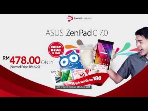 ASUS ZenPad C 7.0 - Hands On Amazingly Affordable Tablet