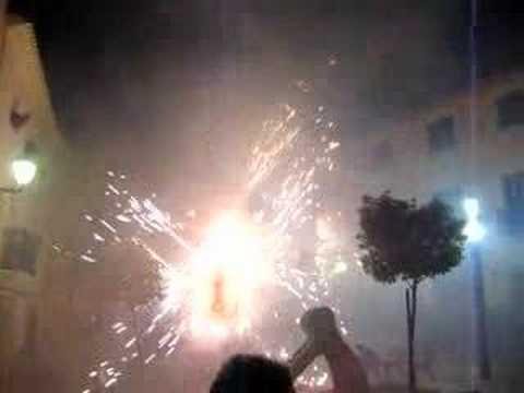 Fiesta in Montichelvo, Valencia