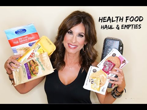 Healthy Food Haul + EMPTIES