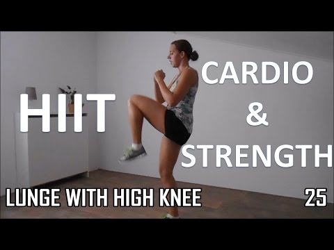 HIIT Workout – 20 Minute Cardio and Strength Training For Beginners