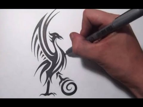 Redesigning The Liverpool FC Liver Bird - Cool Tribal Design