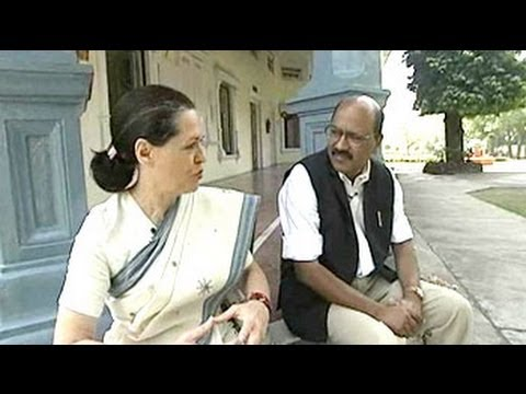 Sonia Gandhi - Shekhar Gupta meets Sonia Gandhi, who he describes as carrying a