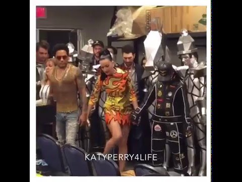 exclusive backstage at super bowl 49 katy perry