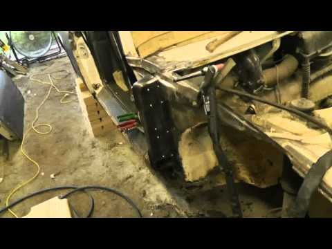 1973 Porsche 914 – Passenger Door Pillar Repair