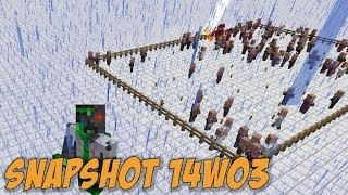 "Minecraft 1.8: Snapshot 14w03 - ""World Edit"", Witch Villagers, Toggleable Skin Overlays"