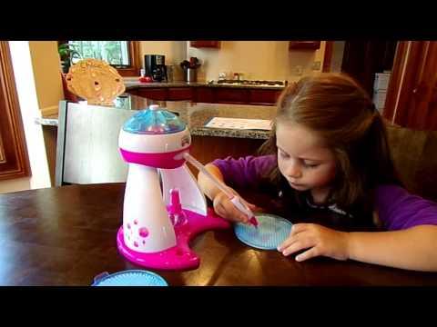 Beados Gems Designer Studio on Chloe's Toy Time!! (видео)