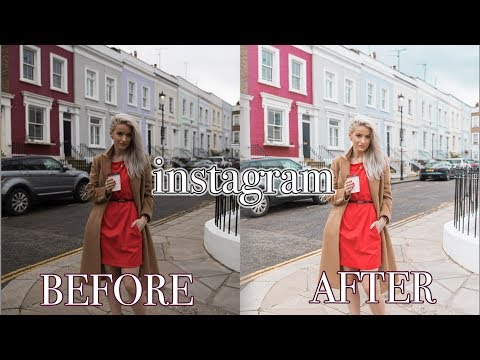 HOW TO EDIT INSTAGRAM PHOTOS LIKE A FASHION BLOGGER | VLOG 78