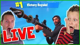 Fortnite DUO with Mini NINJA and Freddy on Live Stream :)