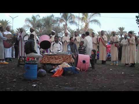 عيد المولد النبوي – أهازيج شعبية مغربية – عمالة عين السبع الحي المحمدي – الحديقة