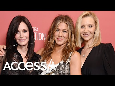Jennifer Aniston Has Mini 'Friends' Reunion With Courteney Cox And Lisa Kudrow