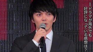 林遣都、波岡一喜、好井まさお、村田秀亮/NETFLIX『火花』特別プレゼンテーション