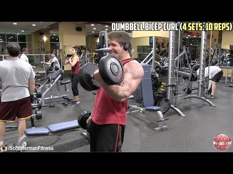 Biceps & Triceps – NO EXCUSES – Muscle Building Workout!
