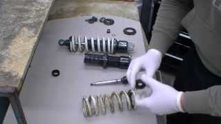 7. Rear Shock Rebuild (part 1)