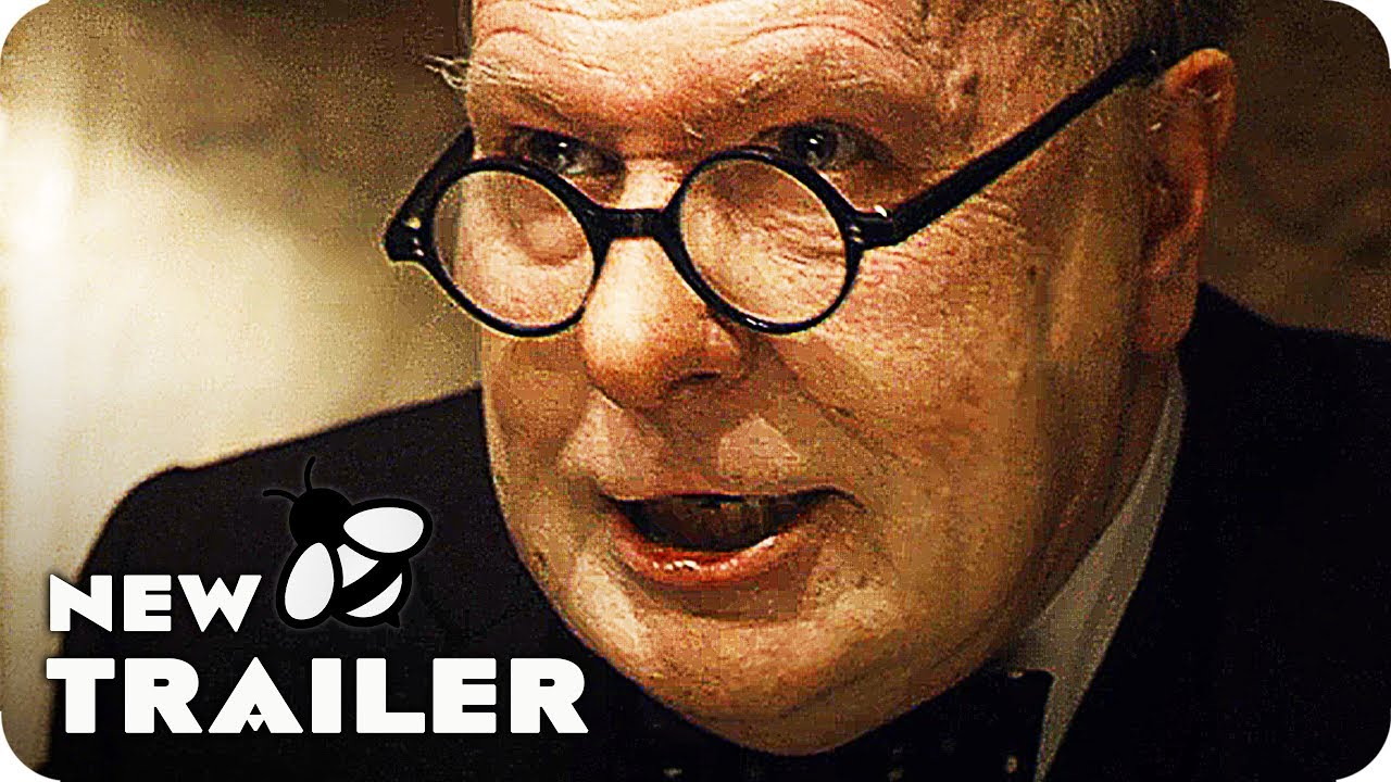 Winston Churchill Wasn't Their First Choice But He Became Their Last Hope in 'Darkest Hour' (Clip) with Unrecognizable Gary Oldman as Churchill
