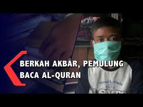 Berkah  Akbar, Pemulung  Baca Al - Quran